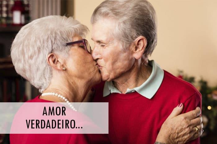 Casal de idosos - Amor verdadeiro