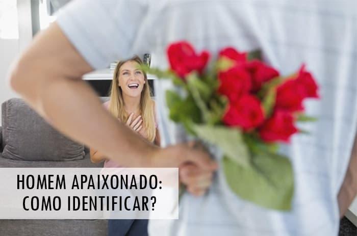 homem apaixonado como identificar