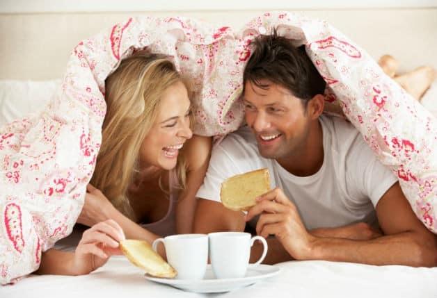 Casal que tem paciência no amor